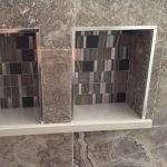 custom shower shelf