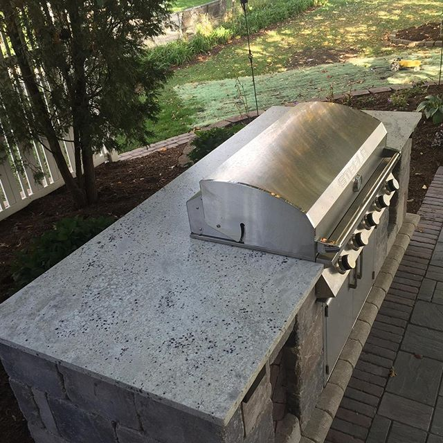 ultimate barbecue grill stone counter