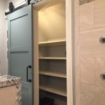 custom sliding bathroom door