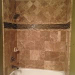 custom shower stone tile